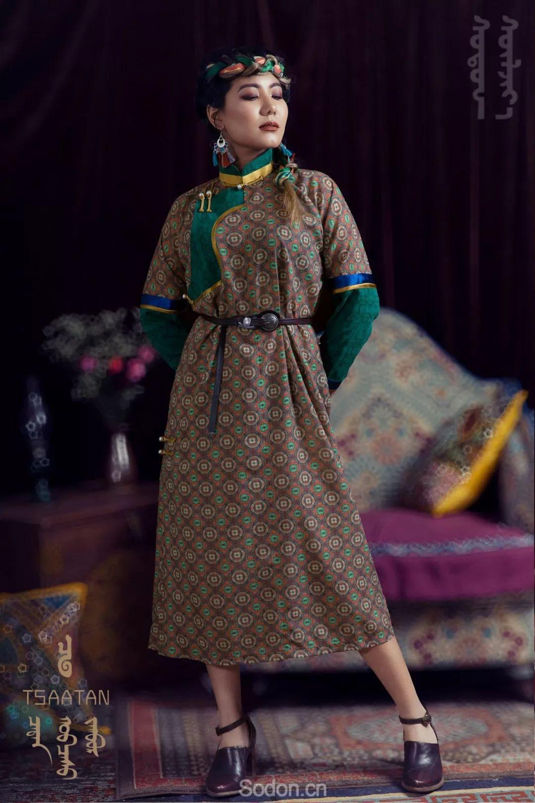 TSAATAN蒙古时装 2019新款,来自驯鹿人的独特魅力! 第96张