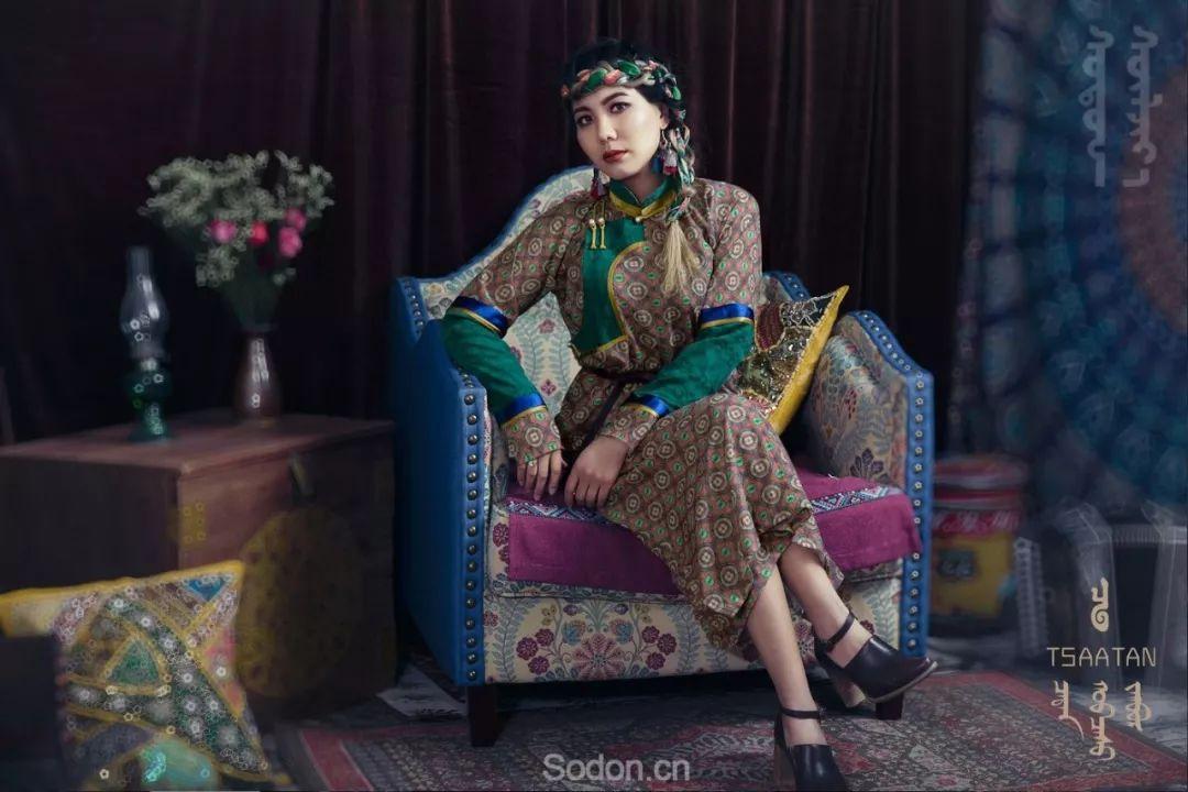 TSAATAN蒙古时装 2019新款,来自驯鹿人的独特魅力! 第97张