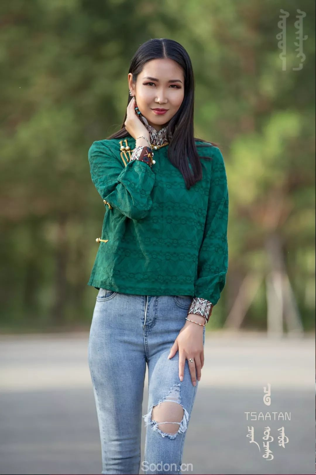 TSAATAN蒙古时装 2019新款,来自驯鹿人的独特魅力! 第99张