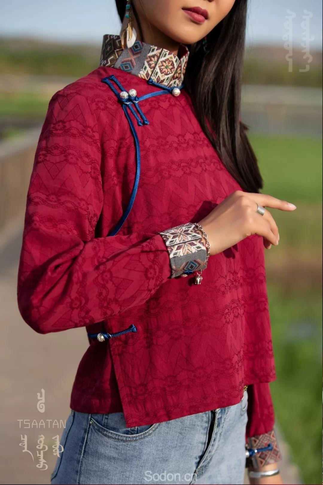 TSAATAN蒙古时装 2019新款,来自驯鹿人的独特魅力! 第103张 TSAATAN蒙古时装 2019新款,来自驯鹿人的独特魅力! 蒙古服饰