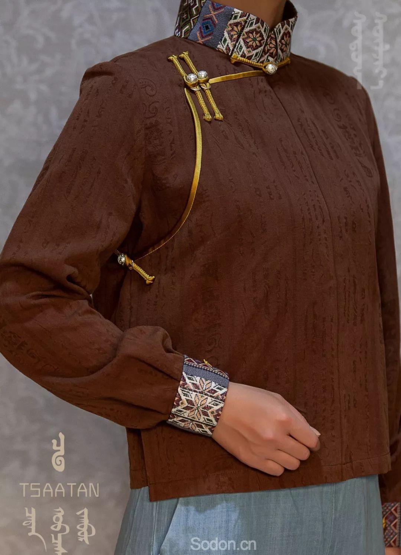 TSAATAN蒙古时装 2019新款,来自驯鹿人的独特魅力! 第106张