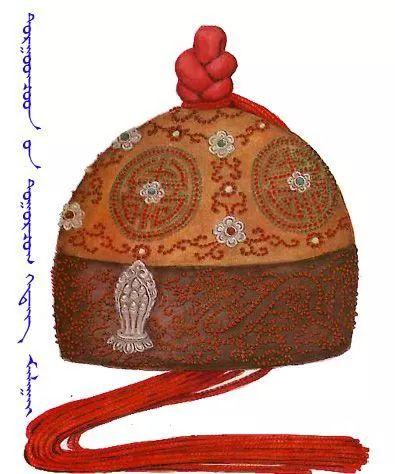 蒙古传统帽子知识 第12张 蒙古传统帽子知识 蒙古服饰