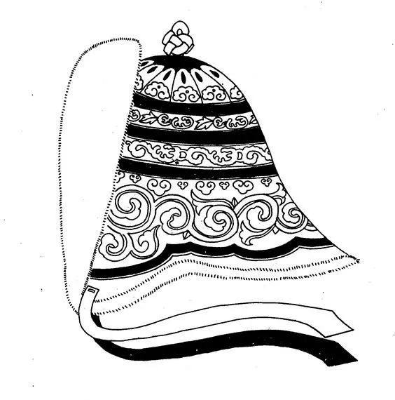 蒙古传统帽子知识 第14张 蒙古传统帽子知识 蒙古服饰