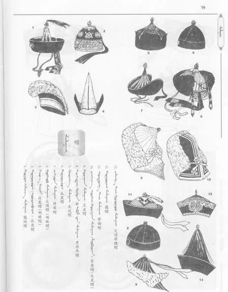 蒙古传统帽子知识 第28张 蒙古传统帽子知识 蒙古服饰