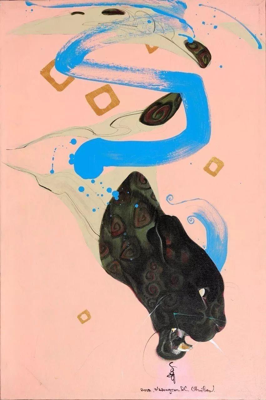 蒙古国著名画家刚巴特尔作品欣赏 ... 第1张