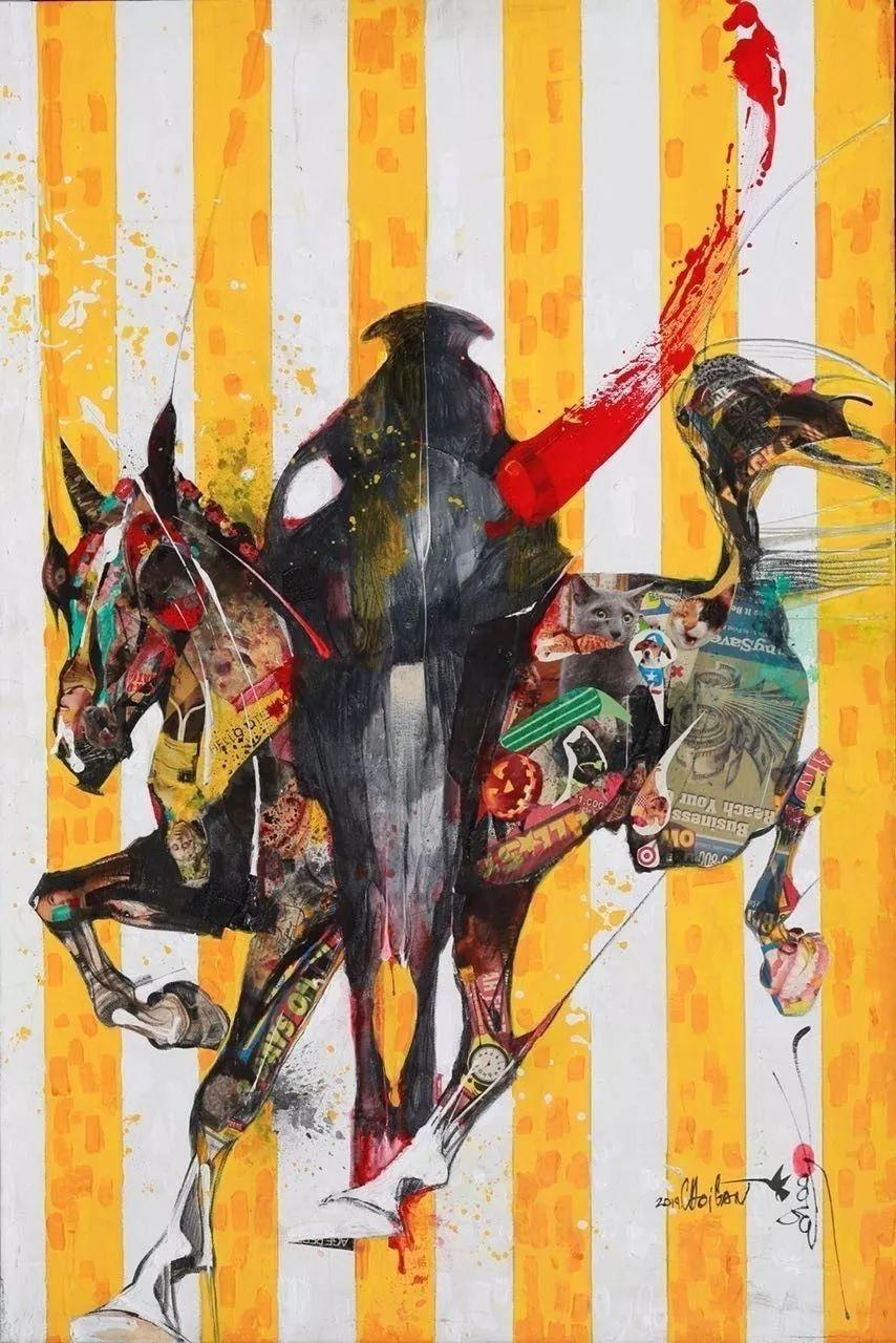 蒙古国著名画家刚巴特尔作品欣赏 ... 第3张