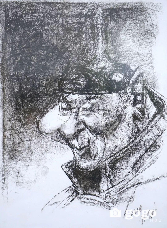 画家N·敖日格勒的这组蒙古名人画像很奇特(图片) 第12张 画家N·敖日格勒的这组蒙古名人画像很奇特(图片) 蒙古画廊