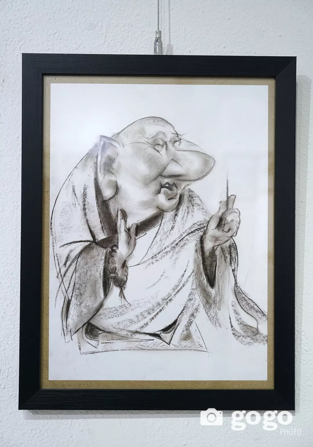 画家N·敖日格勒的这组蒙古名人画像很奇特(图片) 第16张 画家N·敖日格勒的这组蒙古名人画像很奇特(图片) 蒙古画廊