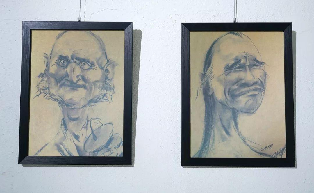 画家N·敖日格勒的这组蒙古名人画像很奇特(图片) 第50张 画家N·敖日格勒的这组蒙古名人画像很奇特(图片) 蒙古画廊