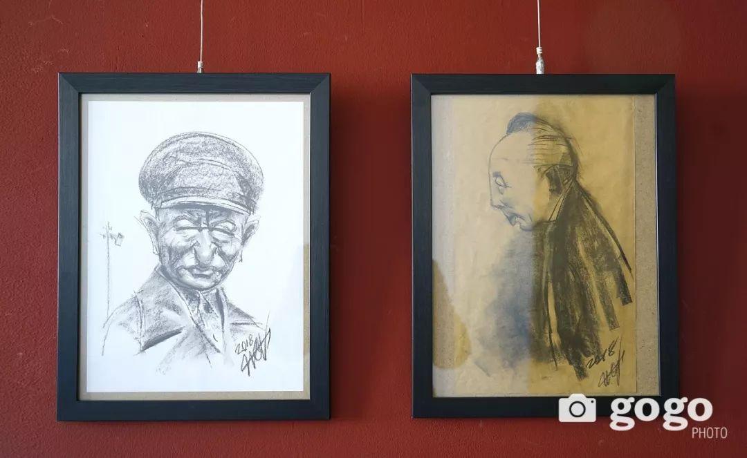 画家N·敖日格勒的这组蒙古名人画像很奇特(图片) 第52张 画家N·敖日格勒的这组蒙古名人画像很奇特(图片) 蒙古画廊