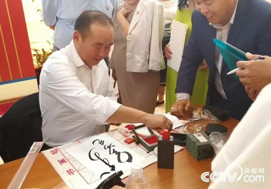 卡尔梅克共和国首次举办蒙古书法展览 第12张