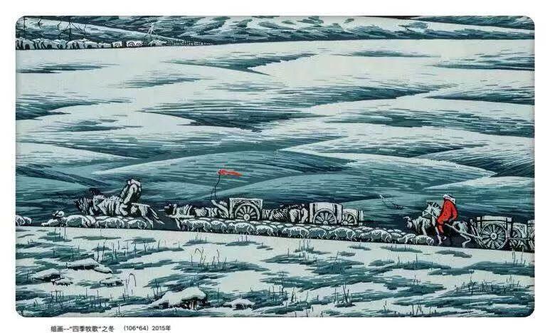 百家艺术|生活的启迪——田宏图版画作品赏析 第5张