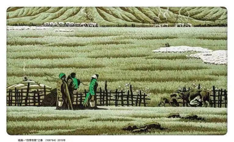 百家艺术|生活的启迪——田宏图版画作品赏析 第13张