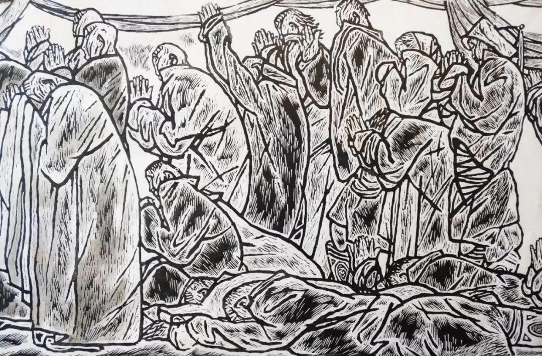 百家艺术|生活的启迪——田宏图版画作品赏析 第24张