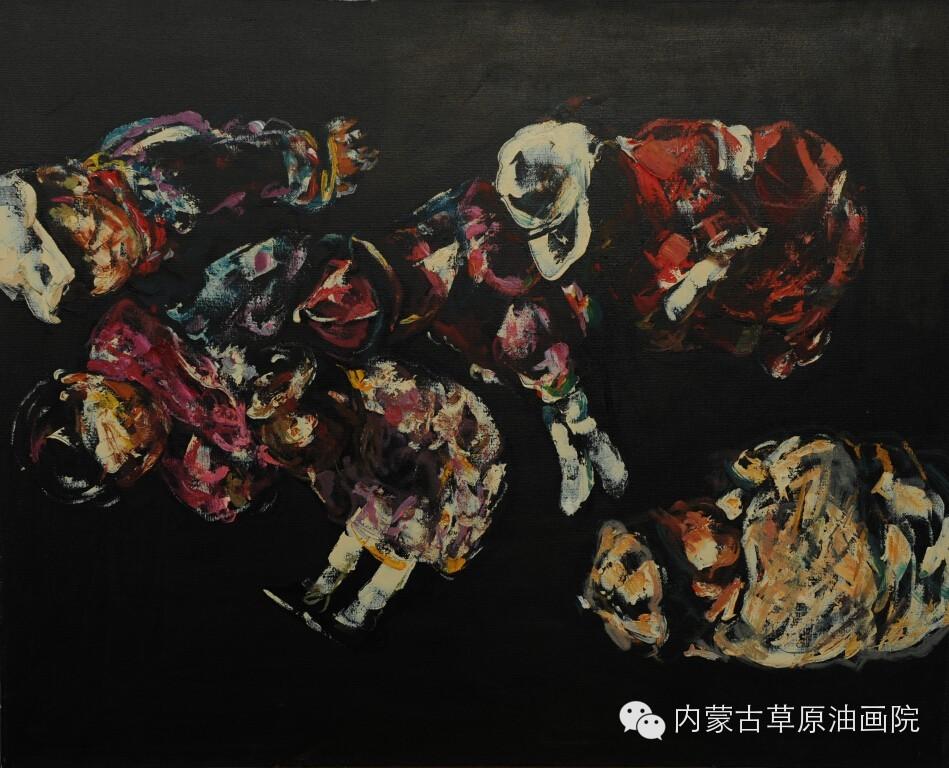 内蒙古草原油画院画家--吴日哲 第7张