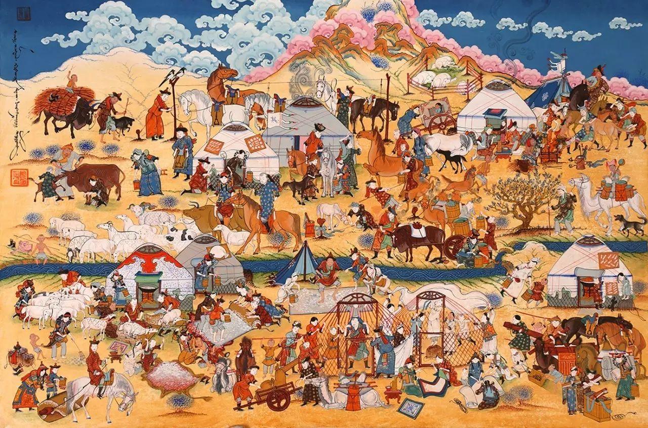 蒙古国作品赏析——来自草原的献礼 第11张