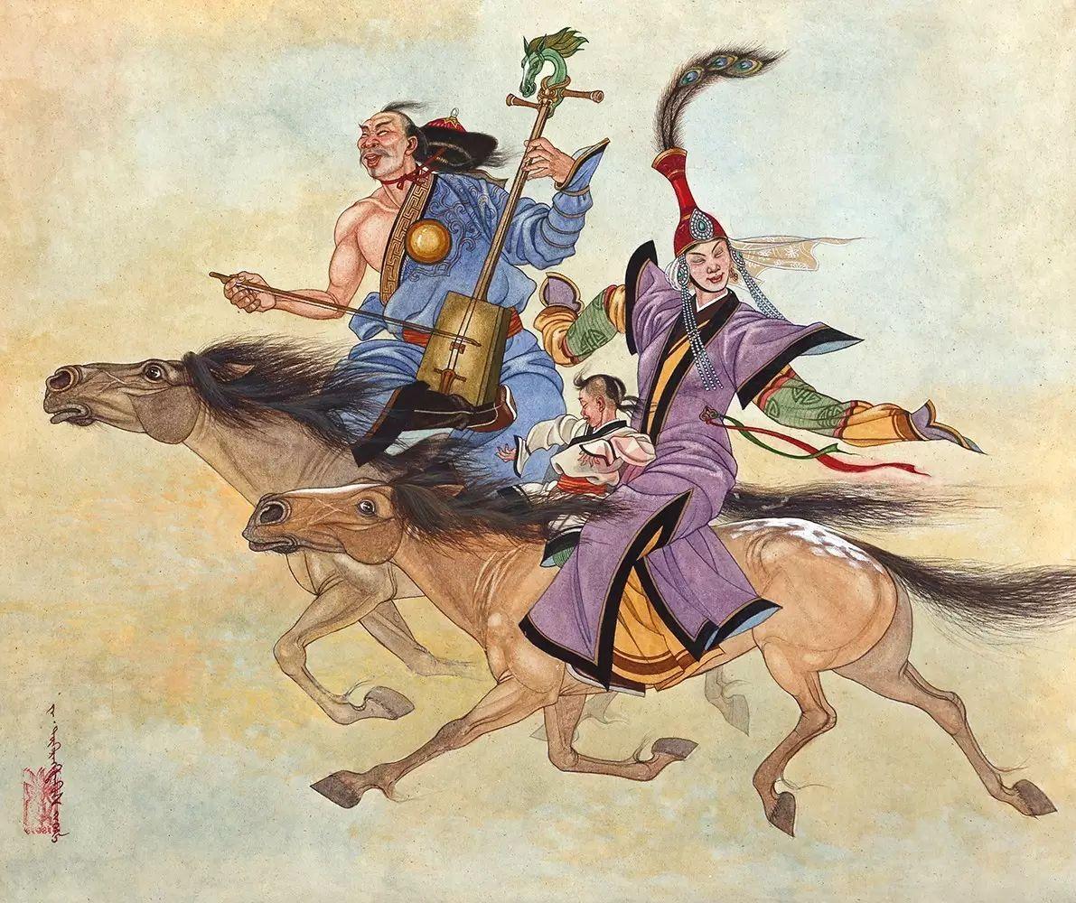 蒙古国作品赏析——来自草原的献礼 第17张