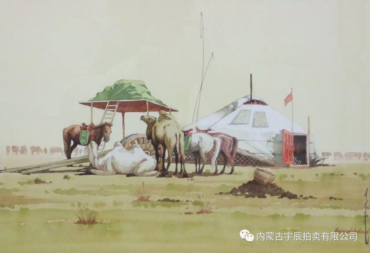 美丽盛开的原野——蒙古国作品赏析(二) 第13张
