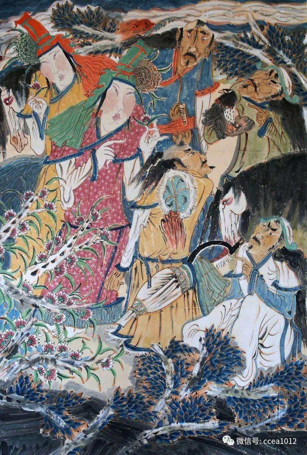 多彩中国•人物志012:孙玉宝——心灵之泉,涓涓而流 第5张