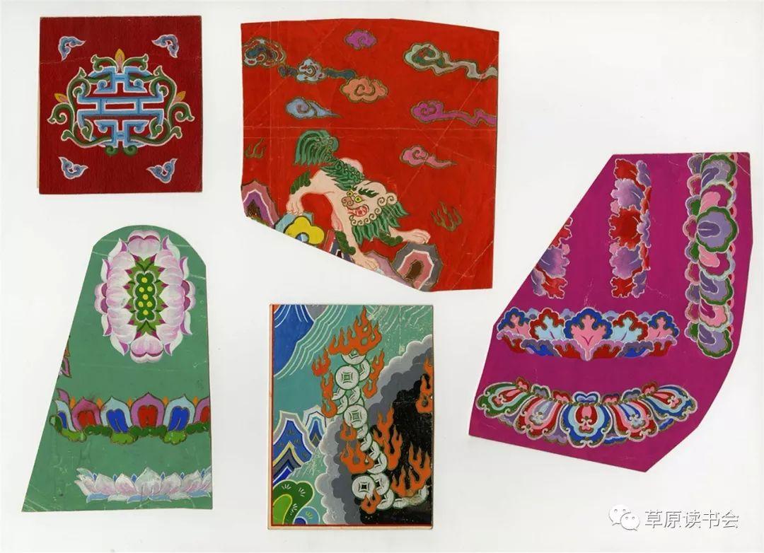 博彦和什克与他的蒙古族图案艺术 第10张 博彦和什克与他的蒙古族图案艺术 蒙古图案