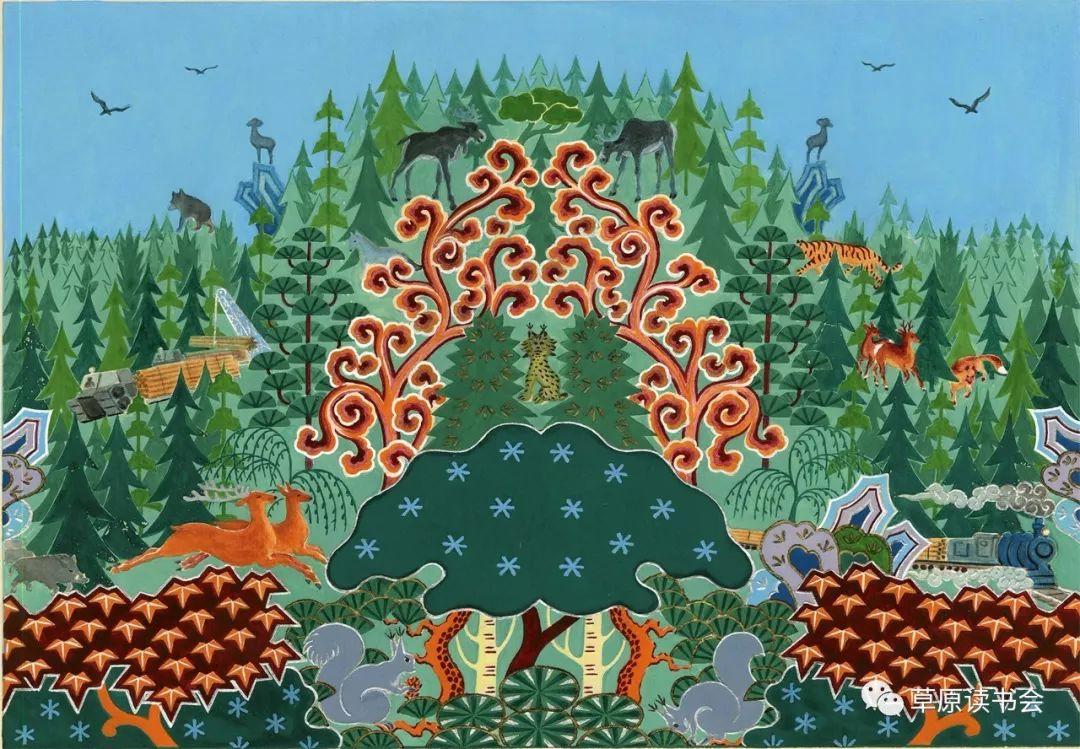 博彦和什克与他的蒙古族图案艺术 第15张 博彦和什克与他的蒙古族图案艺术 蒙古图案