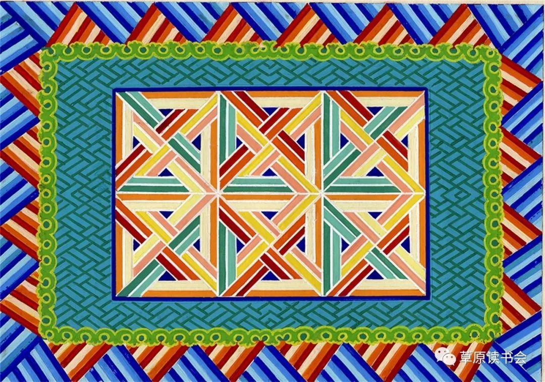 博彦和什克与他的蒙古族图案艺术 第23张 博彦和什克与他的蒙古族图案艺术 蒙古图案
