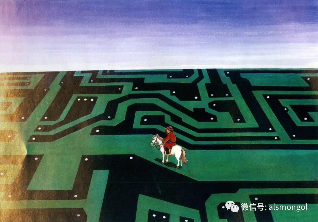 值得一看的蒙古漫画! 第11张 值得一看的蒙古漫画! 蒙古画廊