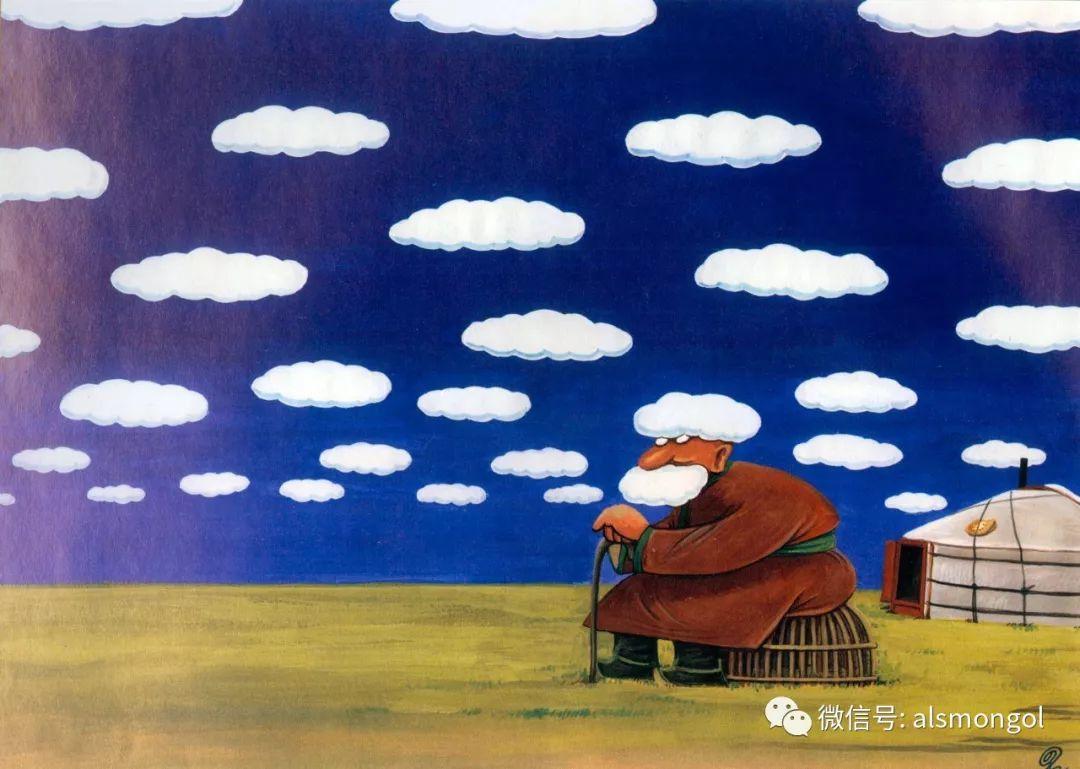 值得一看的蒙古漫画! 第13张 值得一看的蒙古漫画! 蒙古画廊