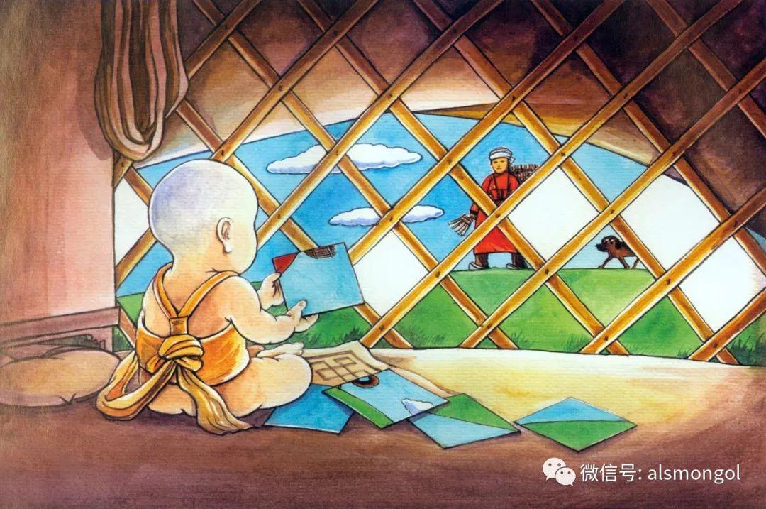 值得一看的蒙古漫画! 第12张 值得一看的蒙古漫画! 蒙古画廊
