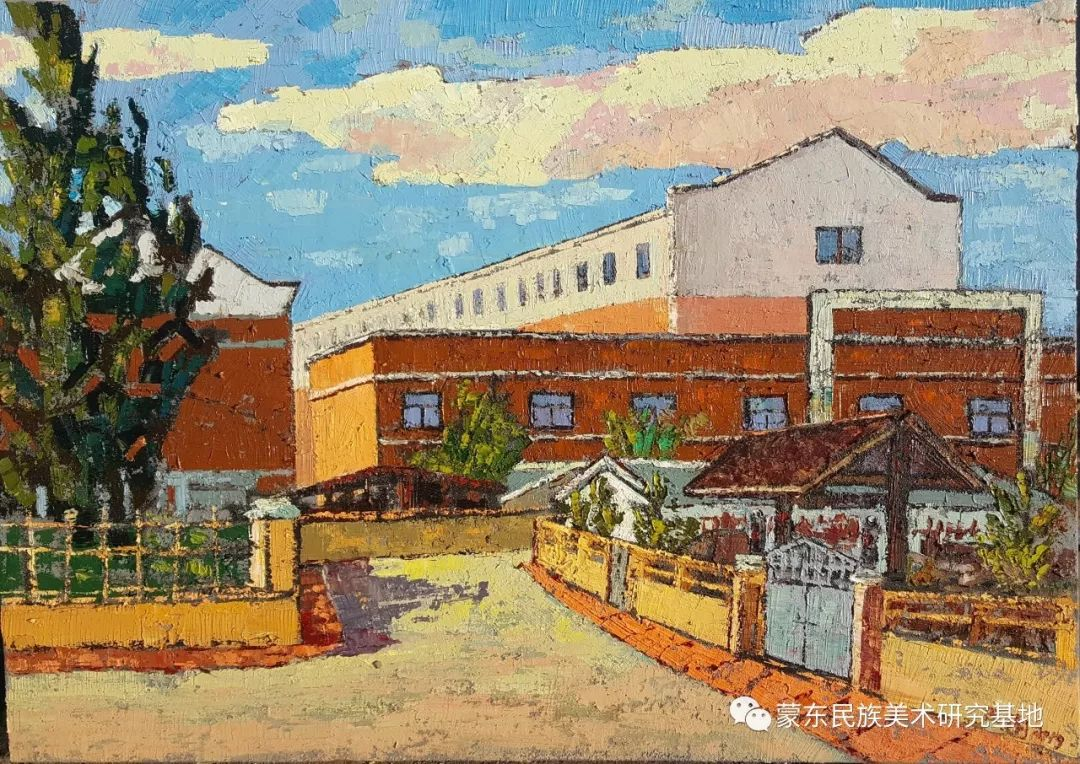 巴图油画作品——中国少数民族美术促进会,蒙东民族美术研究基地画家系列 第3张 巴图油画作品——中国少数民族美术促进会,蒙东民族美术研究基地画家系列 蒙古画廊