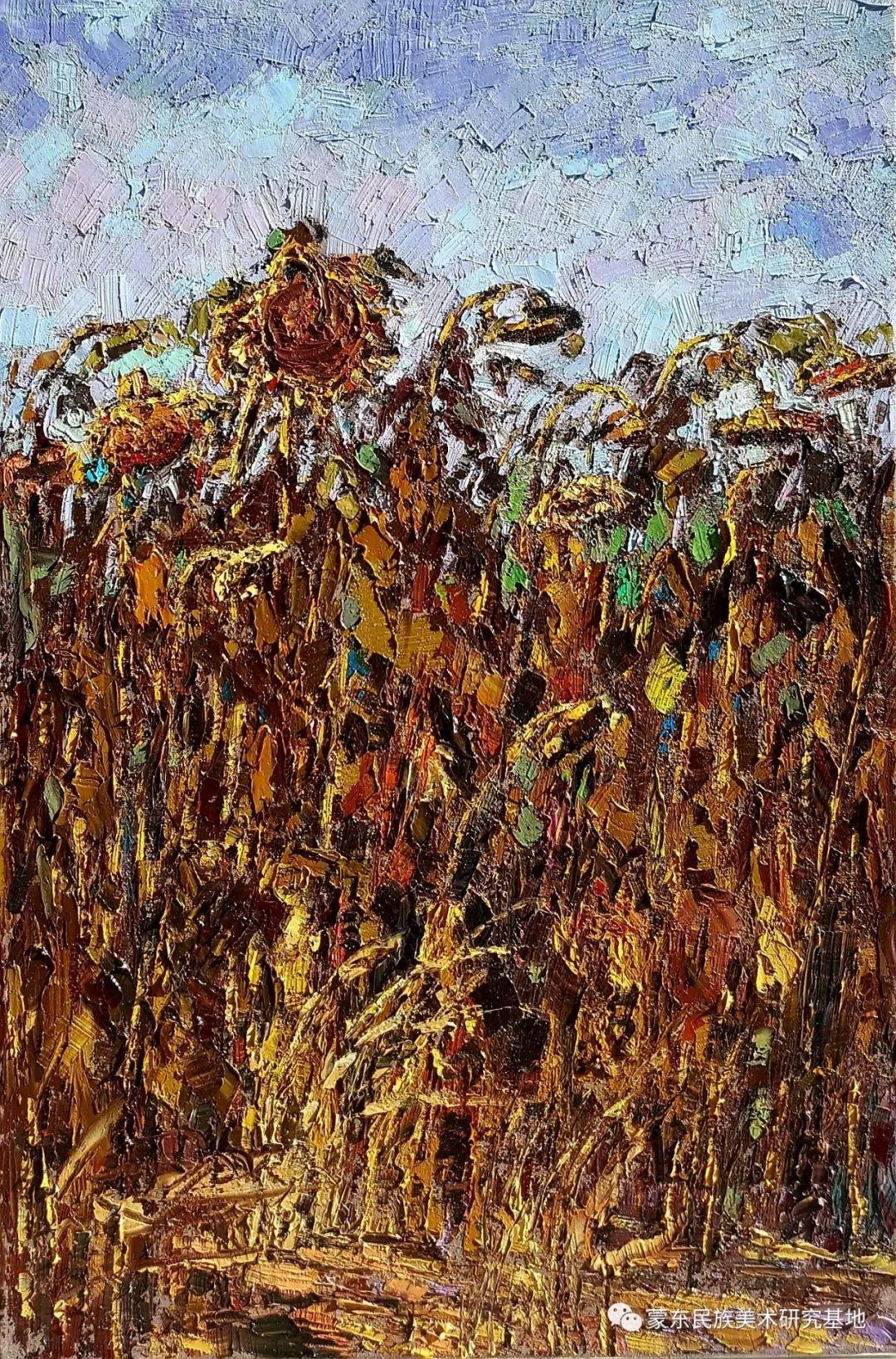 巴图油画作品——中国少数民族美术促进会,蒙东民族美术研究基地画家系列 第2张 巴图油画作品——中国少数民族美术促进会,蒙东民族美术研究基地画家系列 蒙古画廊