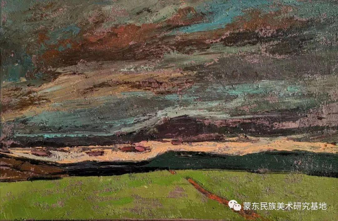 巴图油画作品——中国少数民族美术促进会,蒙东民族美术研究基地画家系列 第12张 巴图油画作品——中国少数民族美术促进会,蒙东民族美术研究基地画家系列 蒙古画廊