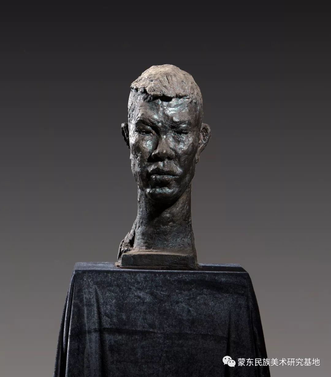 包格日乐吐作品——头像雕塑系列(二) 第1张 包格日乐吐作品——头像雕塑系列(二) 蒙古画廊