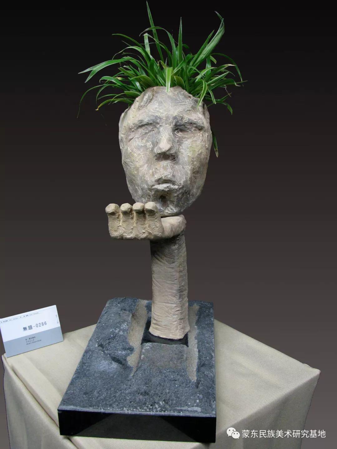 包格日乐吐作品——头像雕塑系列(二) 第6张 包格日乐吐作品——头像雕塑系列(二) 蒙古画廊