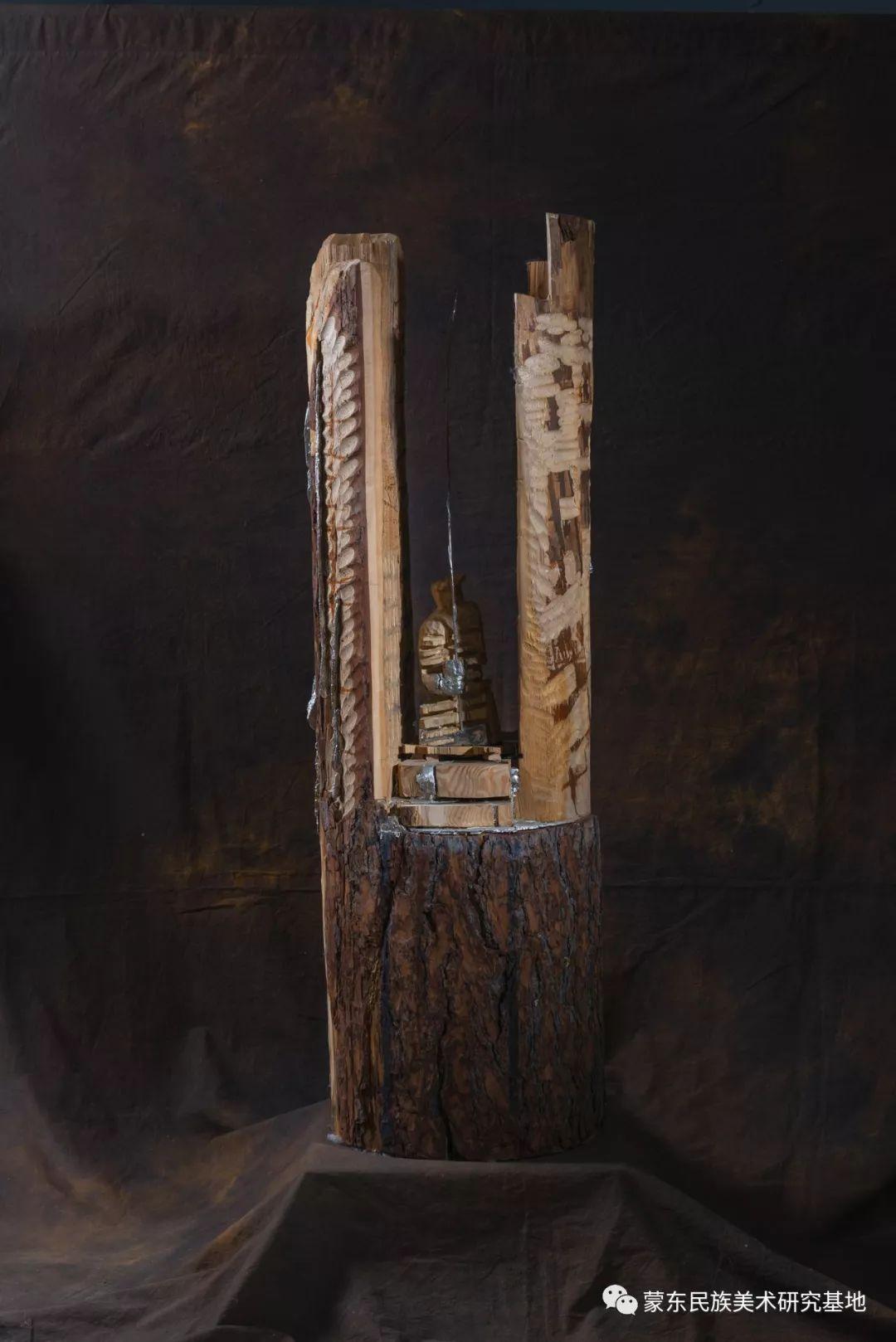 包格日乐吐作品——雕塑系列作品(三) 第3张 包格日乐吐作品——雕塑系列作品(三) 蒙古画廊