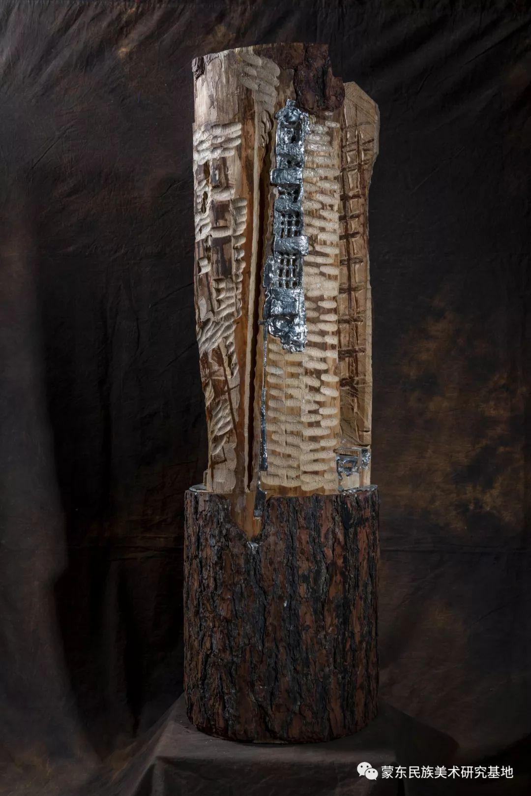 包格日乐吐作品——雕塑系列作品(三) 第4张 包格日乐吐作品——雕塑系列作品(三) 蒙古画廊