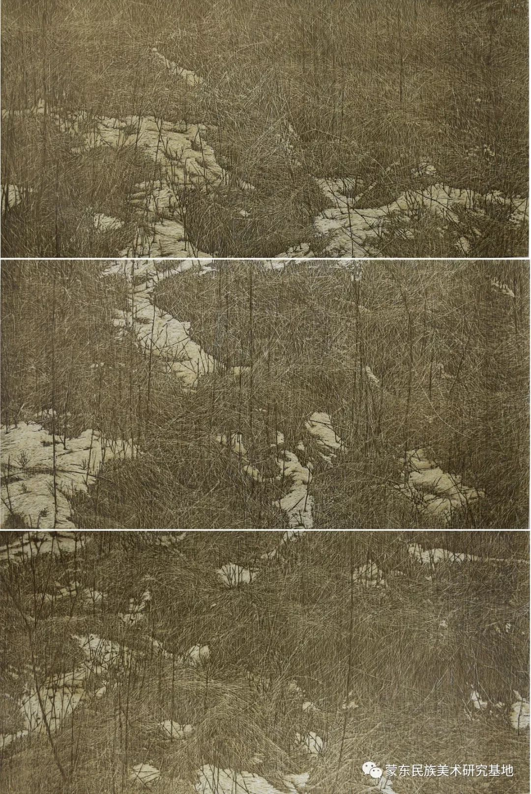 王永波版画作品 第1张 王永波版画作品 蒙古画廊