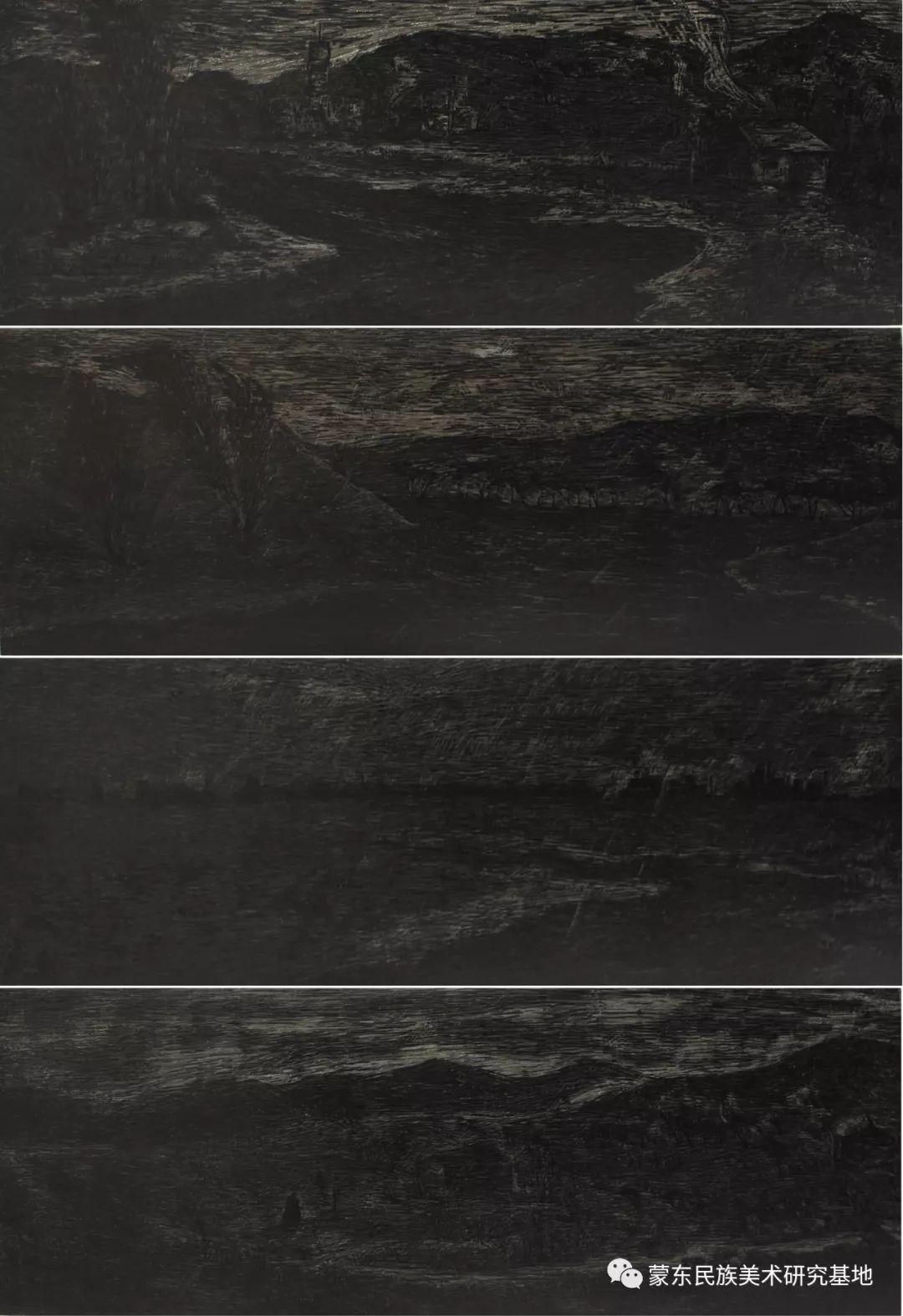 王永波版画作品 第3张 王永波版画作品 蒙古画廊