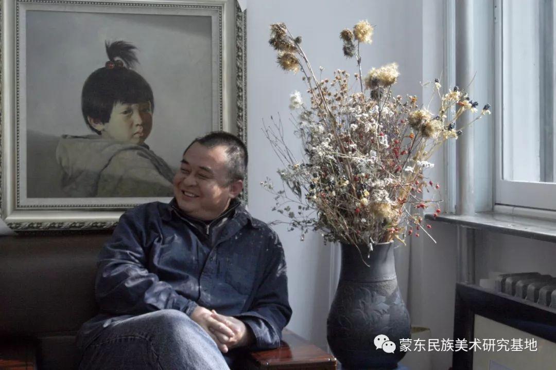 王永波版画作品 第12张 王永波版画作品 蒙古画廊