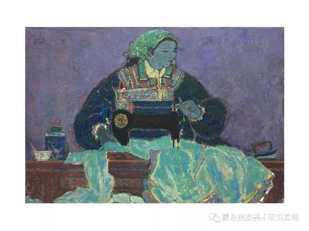那拉苏油画作品——中国少数民族美术促进会,蒙东民族美术研究基地画家系列 第1张 那拉苏油画作品——中国少数民族美术促进会,蒙东民族美术研究基地画家系列 蒙古画廊