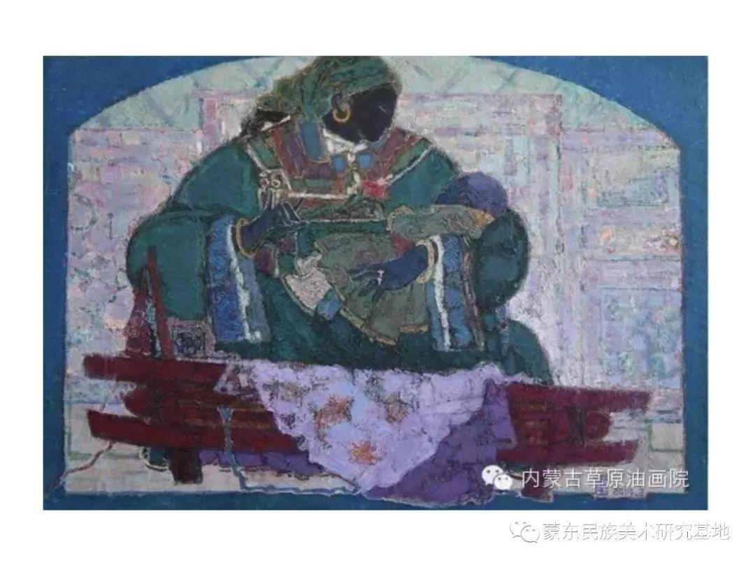 那拉苏油画作品——中国少数民族美术促进会,蒙东民族美术研究基地画家系列 第7张 那拉苏油画作品——中国少数民族美术促进会,蒙东民族美术研究基地画家系列 蒙古画廊
