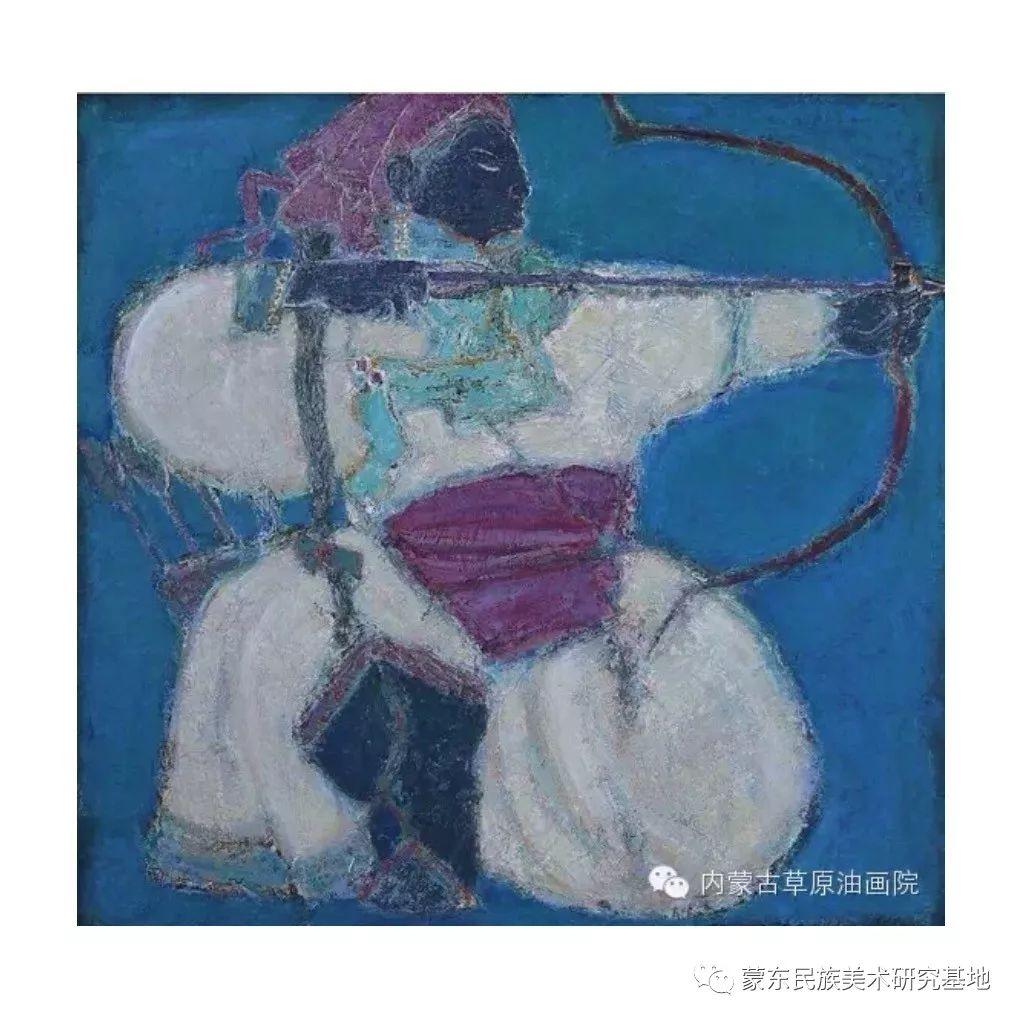 那拉苏油画作品——中国少数民族美术促进会,蒙东民族美术研究基地画家系列 第9张 那拉苏油画作品——中国少数民族美术促进会,蒙东民族美术研究基地画家系列 蒙古画廊
