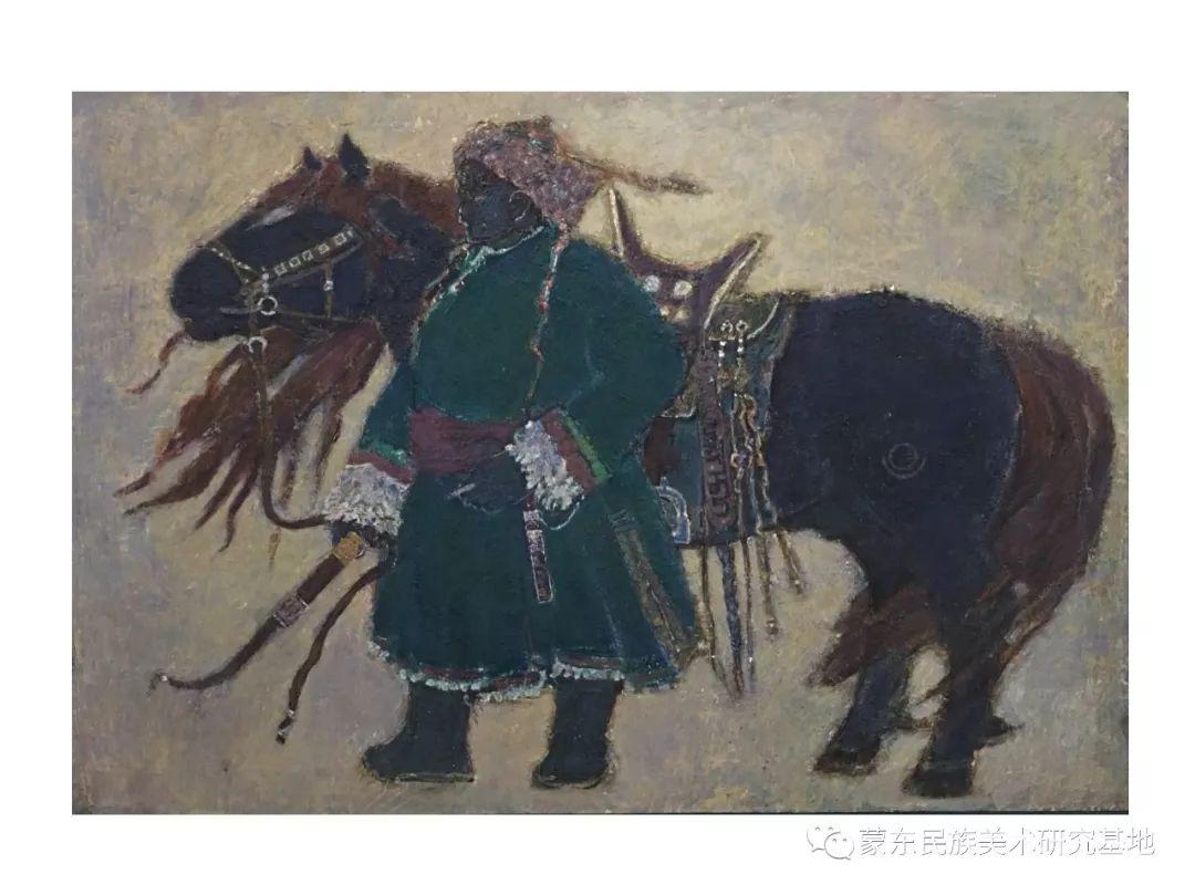 那拉苏油画作品——中国少数民族美术促进会,蒙东民族美术研究基地画家系列 第10张 那拉苏油画作品——中国少数民族美术促进会,蒙东民族美术研究基地画家系列 蒙古画廊