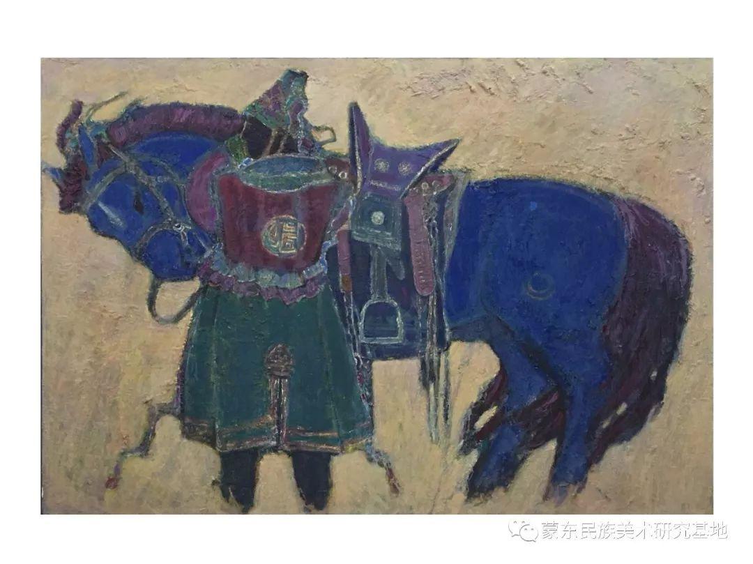 那拉苏油画作品——中国少数民族美术促进会,蒙东民族美术研究基地画家系列 第8张 那拉苏油画作品——中国少数民族美术促进会,蒙东民族美术研究基地画家系列 蒙古画廊