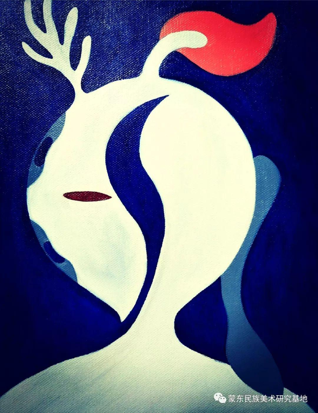 娜恩达拉油画作品——中国少数民族美术促进会,蒙东民族美术研究基地画家系列 第1张 娜恩达拉油画作品——中国少数民族美术促进会,蒙东民族美术研究基地画家系列 蒙古画廊