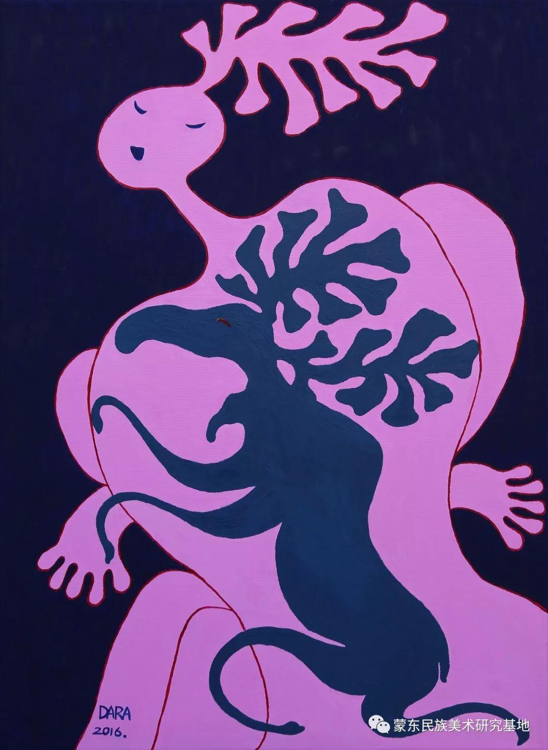 娜恩达拉油画作品——中国少数民族美术促进会,蒙东民族美术研究基地画家系列 第5张 娜恩达拉油画作品——中国少数民族美术促进会,蒙东民族美术研究基地画家系列 蒙古画廊