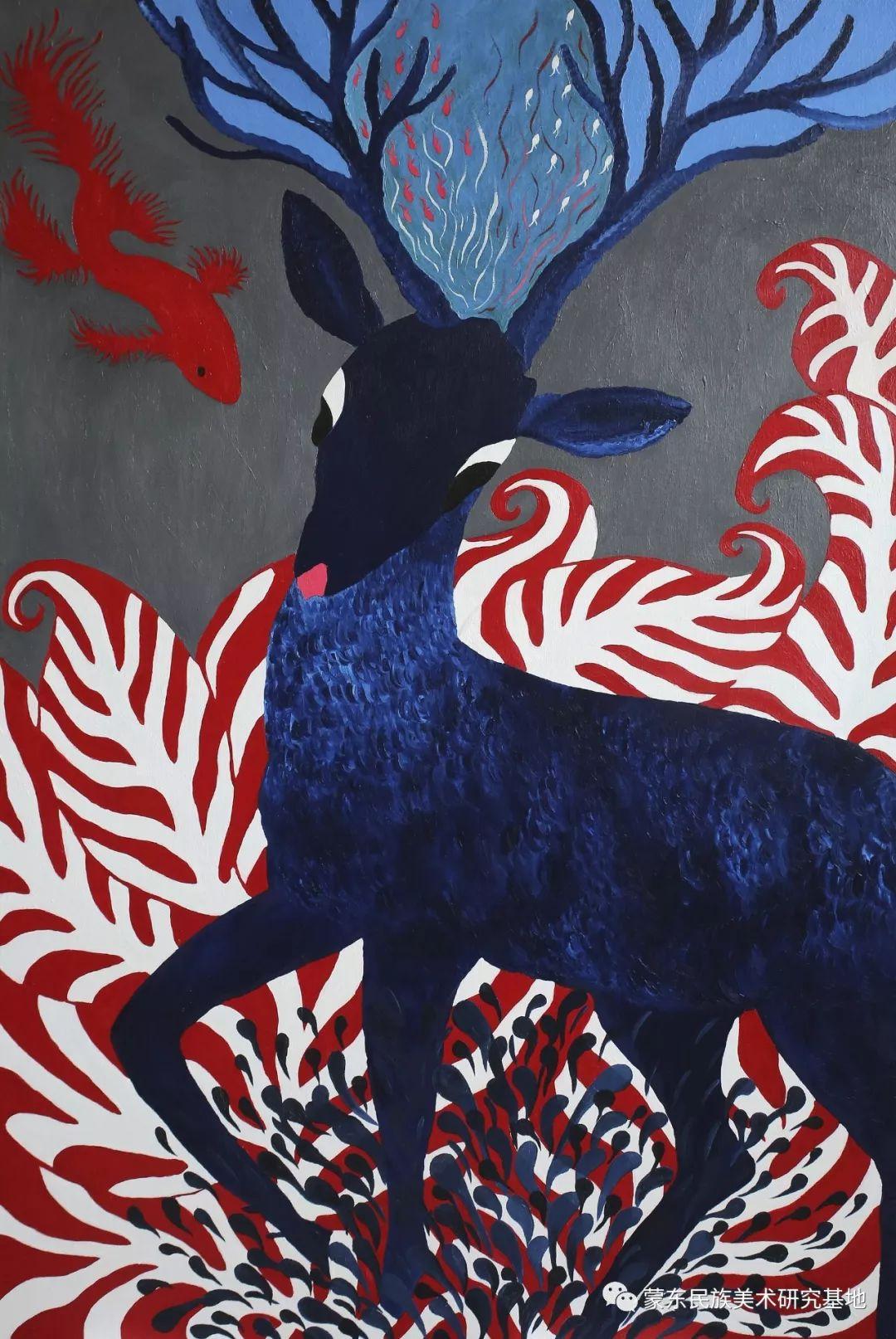 娜恩达拉油画作品——中国少数民族美术促进会,蒙东民族美术研究基地画家系列 第9张 娜恩达拉油画作品——中国少数民族美术促进会,蒙东民族美术研究基地画家系列 蒙古画廊