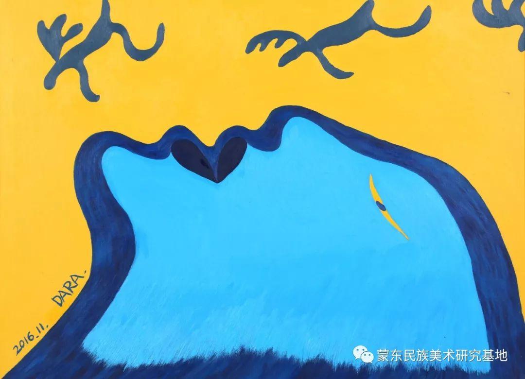 娜恩达拉油画作品——中国少数民族美术促进会,蒙东民族美术研究基地画家系列 第8张 娜恩达拉油画作品——中国少数民族美术促进会,蒙东民族美术研究基地画家系列 蒙古画廊