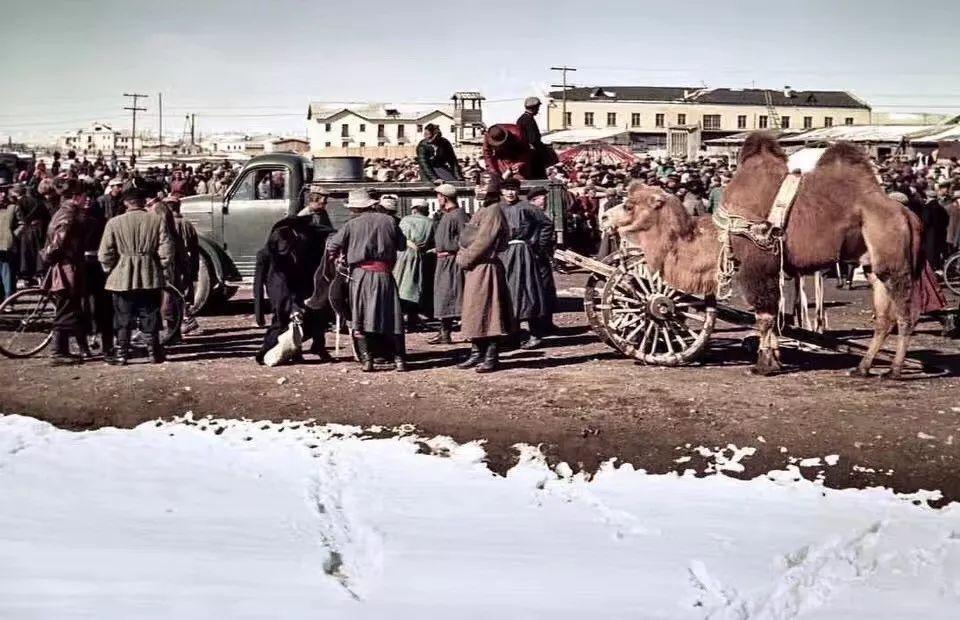 上世纪五十年代的蒙古街头,如今看来满满复古风! 第1张 上世纪五十年代的蒙古街头,如今看来满满复古风! 蒙古文库