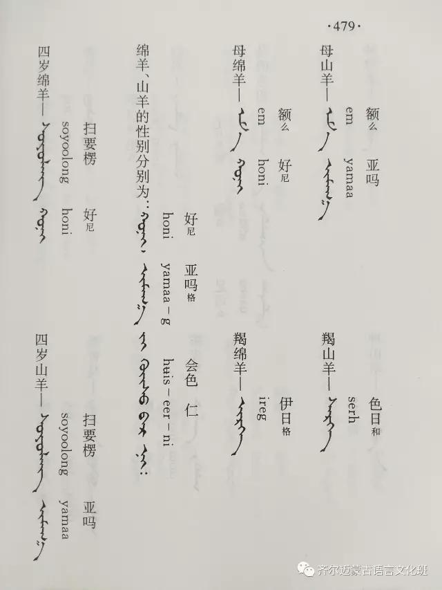 学蒙古语的人很多,学蒙古语的书籍有哪些?┃回顾50年代至今学蒙古语的书籍(2) 第91张